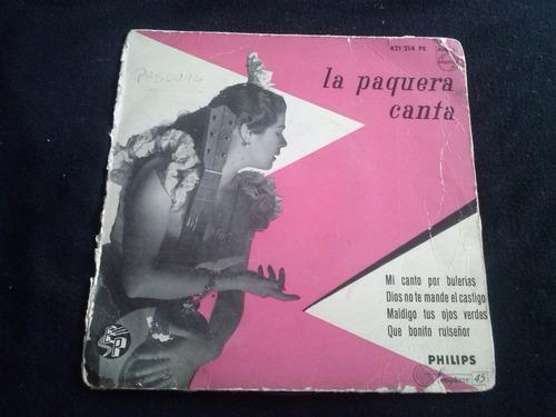 single la paquera canta