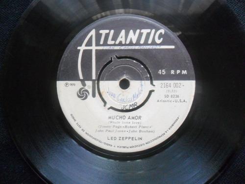 single led zepellin una joyita 1970