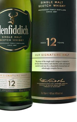 single malt glenfiddich 12