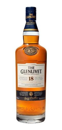 single malt the glenlivet 18 años 750 ml