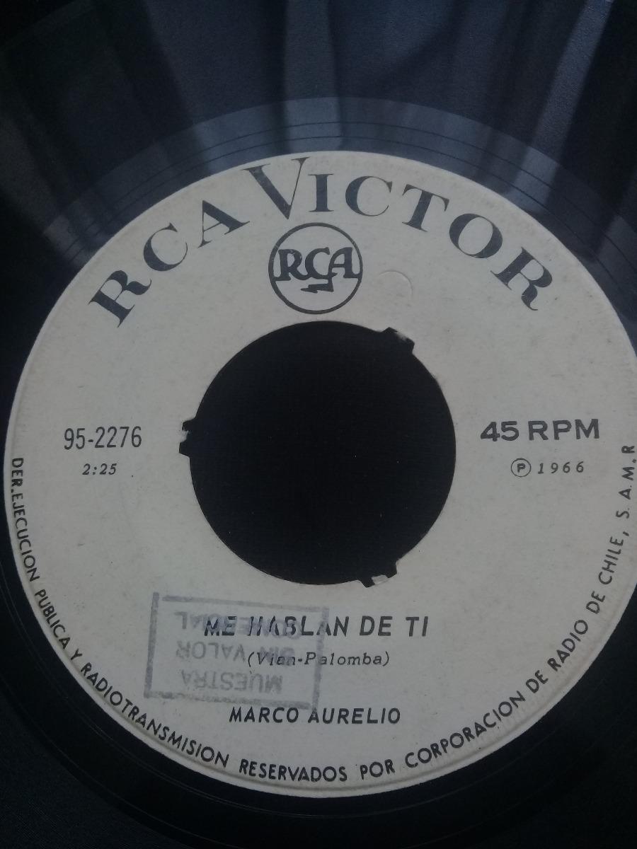 Single Marco Aurelio Por Creer En Ti - $ 5.000 en Mercado Libre
