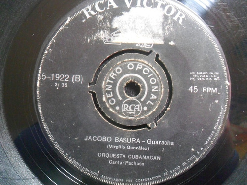 single orquesta cubanacan