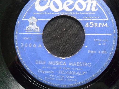 single orquesta huambaly