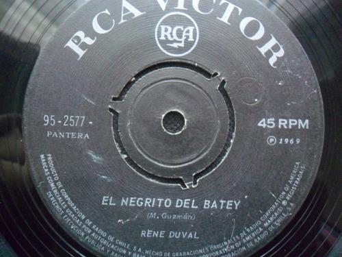 single rene duval (chileno) el negrito del batey