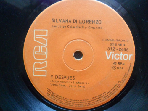 single silvana di lorenzo