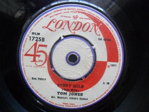single tom jones puppet man . every mile