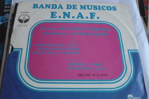 single vinilo 45 banda de musicos de e.n.a.f. bolivia