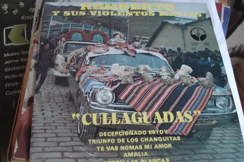 single vinilo 45 remberto y sus violentos mayjas bolivia