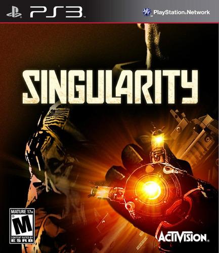 singularity. ps3. nuevo y sellado