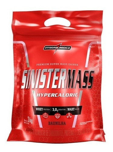 sinistermass hipercalorico 3kg integralmedica