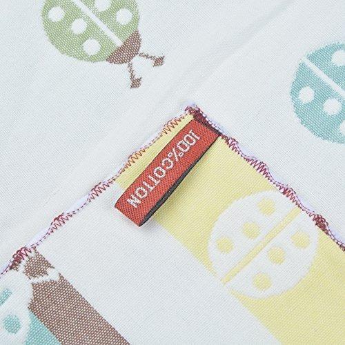 sinland 100% algodón de dos caras toallas de mano para niños