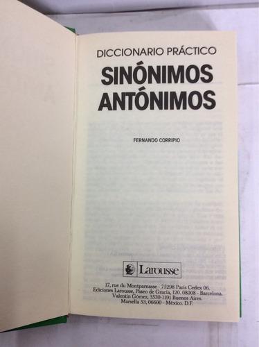 sinónimos y antónimos. larousse