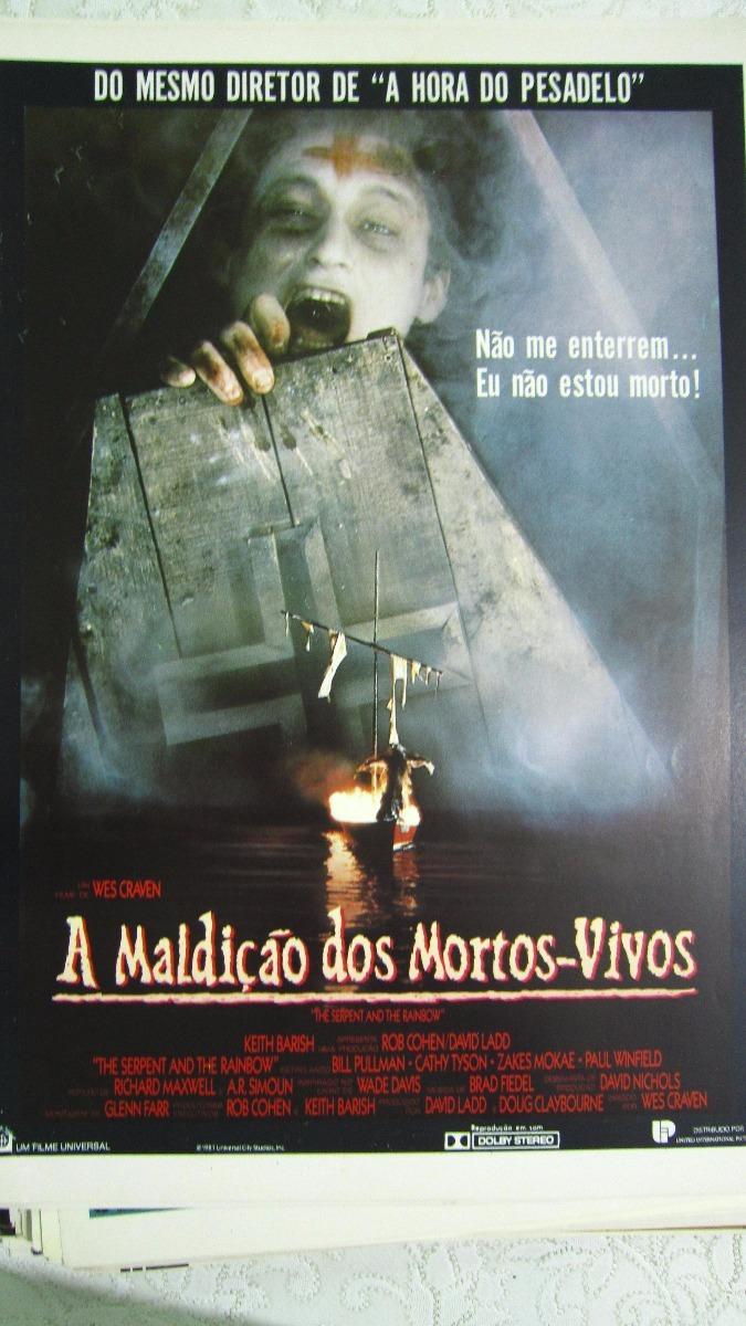 Filme Mortos Vivos within sinopse/cartazete do filme a maldição dos mortos vivos - r$ 30,00