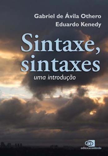 sintaxe, sintaxes