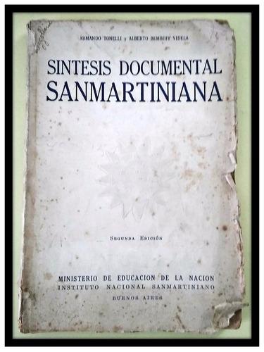 síntesis documental sanmartiniana tonelli videla