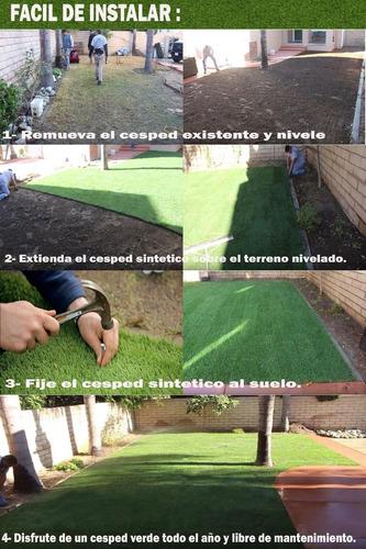 sintetico jardin cesped