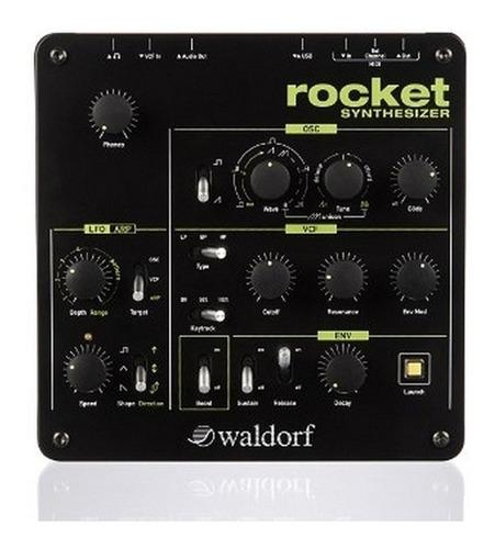 sintetizador analógico waldorf rocket - monofónico