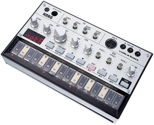 sintetizador análogo korg volca bass