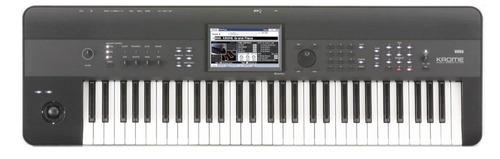 sintetizador korg krome-61 de 61 teclas, monstruo