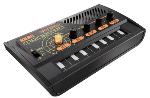 sintetizador korg monotron delay analogo ribbon - negro