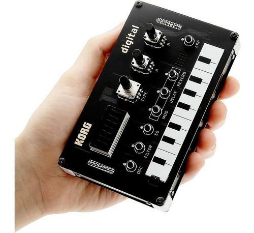sintetizador korg nts1 kit digital programable diy - cuotas