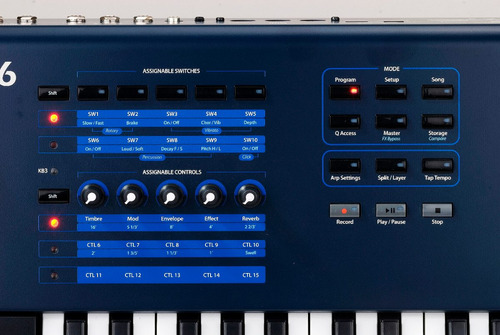 sintetizador kurzweil pc3 le 6