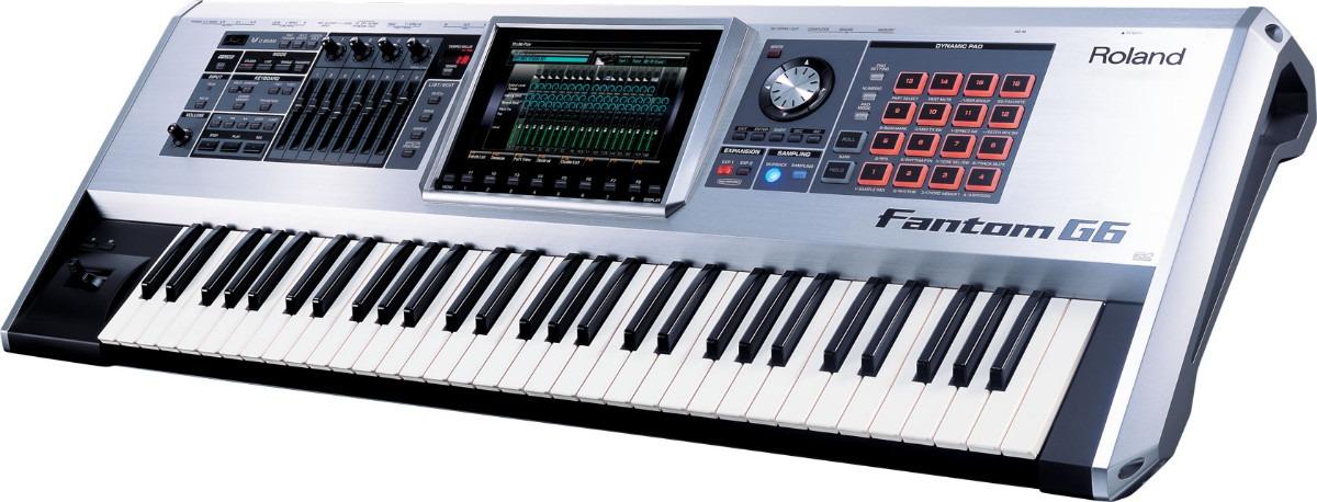 Sintetizador Roland Fantom G6