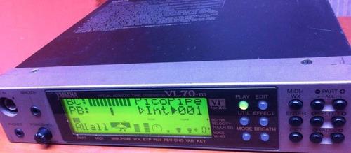 sinthe vl70m para controlador midi yamaha wx5