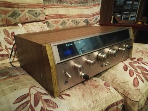sinto amplificador akai - aa910-vintage-antiguo-excelente
