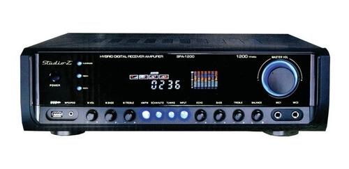 sintoamplificador studio z 1200bt bluetooth/usb/radio am fm
