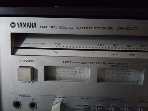 sintoamplificador yamaha cr-1040.