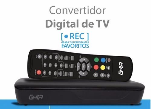 sintonizador analógico-digital para tv con grabación en usb