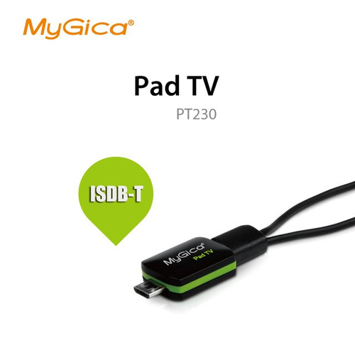 sintonizador de tv digital pad tv * android * tablet * otg *