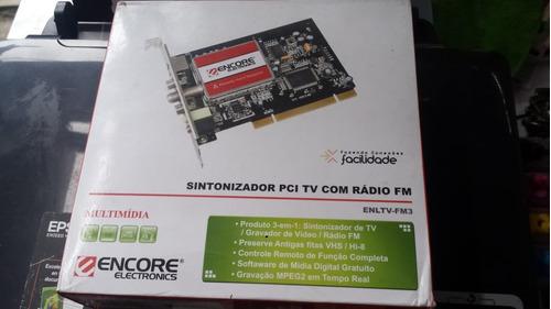 sintonizador de tv pci con radio