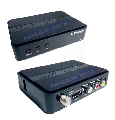 sintonizador decodificador tda tv digital hdtv xt55 hdmi usb