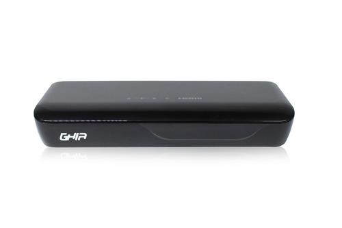 sintonizador digital ghia gac-002 grabación en usb negro