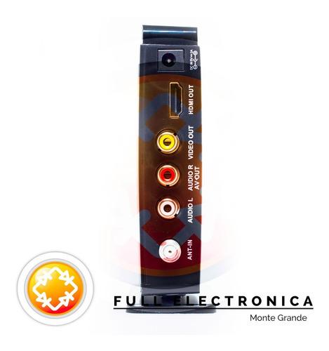 sintonizador digital tda deco - hd1080 hdmi - c/remoto y usb