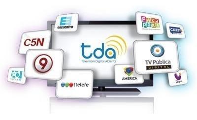 sintonizador kit completo p 2 tvs digital tda antena envios