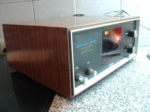 sintonizador topeco 1102 am-fm stereo multiplex audio vintag