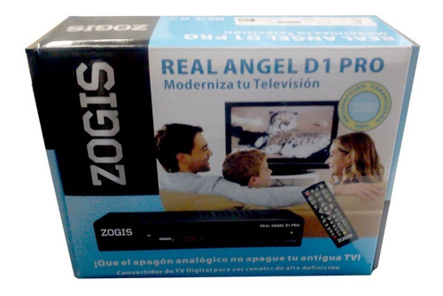 sintonizador tv analog a digital zogis,real angel d2 c/ fuen