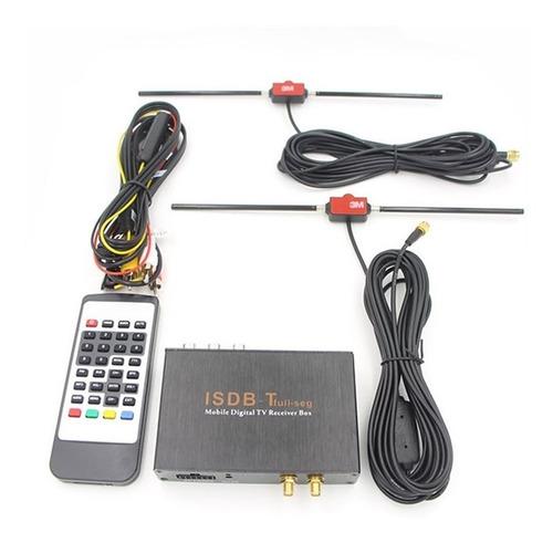 sintonizador tv digital fhd 2 antenas automático hdmi rca