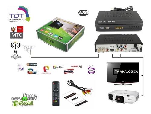 sintonizador tv digital hd canales libre isdb-t tv monitor