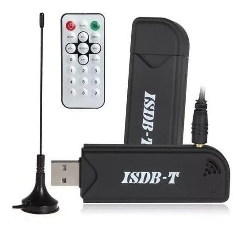 sintonizador tv digital tda usb para pc antena cotrol remoto