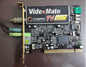 Capturadora Compro Videomate C200 Plus