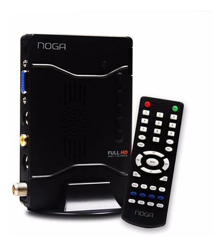 sintonizadora tv externa noga fullhd 1080p c/ remoto oficial