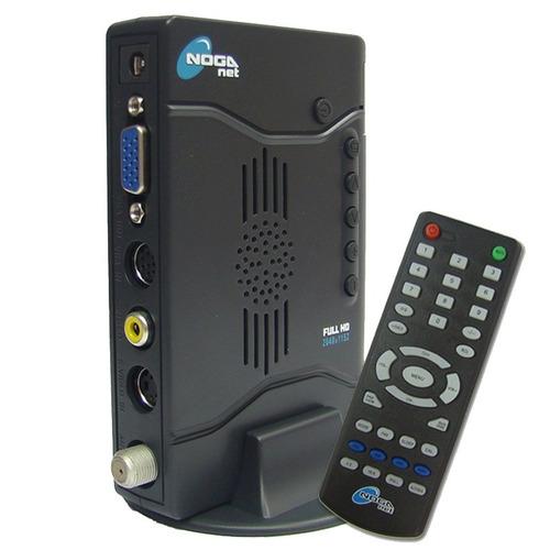 sintonizadora tv externa noganet noga full hd+control remoto