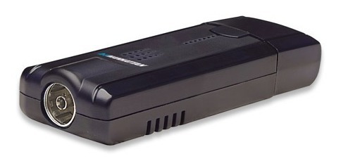 sintonizadora tv/radio manhattan usb portable control remoto