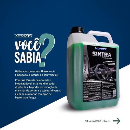sintra limpeza de interiores 5l vonixx concentrado flotador