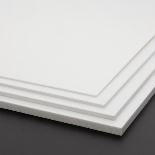 sintra pvc 1.22x2.44x3mm rigido - policarbonato - alucobond