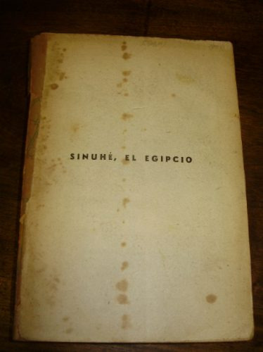 sinuhe, el egipcio mika waltari editorial americana 1959